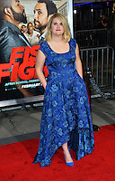 Jillian Bell at the world premiere for &quot;Fist Fight&quot; at the Regency Village Theatre, Westwood, Los Angeles, USA 13 February  2017<br /> Picture: Paul Smith/Featureflash/SilverHub 0208 004 5359 sales@silverhubmedia.com