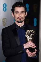 Damien Chazelle at the 2017 EE British Academy Film Awards (BAFTA) After-Party held at the Grosvenor House Hotel, London, UK. <br /> 12 February  2017<br /> Picture: Steve Vas/Featureflash/SilverHub 0208 004 5359 sales@silverhubmedia.com
