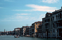 Venice:  #1.  The Grand Canal.  Photo '83.