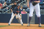 Ole Miss' Tanner Mathis (12)vs. Lipscomb at Oxford-University Stadium in Oxford, Miss. on Saturday, March 9, 2013. Ole Miss won 8-5. The win was the 486th for Mike Bianco as the Rebel head coach, making him the university's all time winningest baseball coach.