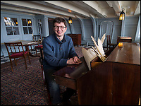 BNPS.co.uk (01202 558833)<br /> Pic: PhilYeomans/BNPS<br /> <br /> NMRN Head of Historic ships Andrew Baines in Nelson's day cabin on HMS Victory.<br /> <br /> Fascinating letters in which a cash-strapped Admiral Lord Nelson fired a financial broadside at his commanding officer in an unseemly row over prize money have come to light.<br /> <br /> The letters from Nelson's banker relate to much needed bounty the one-armed sailor felt he was due in the wake of one of the most lucrative naval engagements in history. <br /> <br /> Nelson had been overlooked a pay out for the 1799 capture of two Spanish frigates loaded with gold bullion which had a combined value of &pound;650,000 - &pound;65m in today's money.<br /> <br /> Nelson, who by this stage had to pay a hefty mortage on his grand home in Surrey, was in debt to ex-wife Fanny and had to keep mistress Emma Hamilton in the style she was accustomed to, was livid.<br /> <br /> Mellors &amp; Kirk auctions - 22 March - Est &pound;3000.