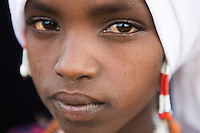 Portrait of a villager in Awash, Afar region in Ethiopia