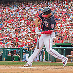 29 May 2016: Washington Nationals catcher Wilson Ramos at bat against the St. Louis Cardinals at Nationals Park in Washington, DC. The Nationals defeated the Cardinals 10-2 to split their 4-game series. Mandatory Credit: Ed Wolfstein Photo *** RAW (NEF) Image File Available ***