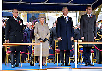 King Philippe of Belgium with Queen Elizabeth II & Royal family - London
