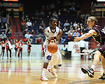 "Ole Miss' Jarvis Summers (32) at the C.M. ""Tad"" Smith Coliseum in Oxford, Miss. on Friday, November 11, 2011. Ole Miss won 60-38 in the season opener."