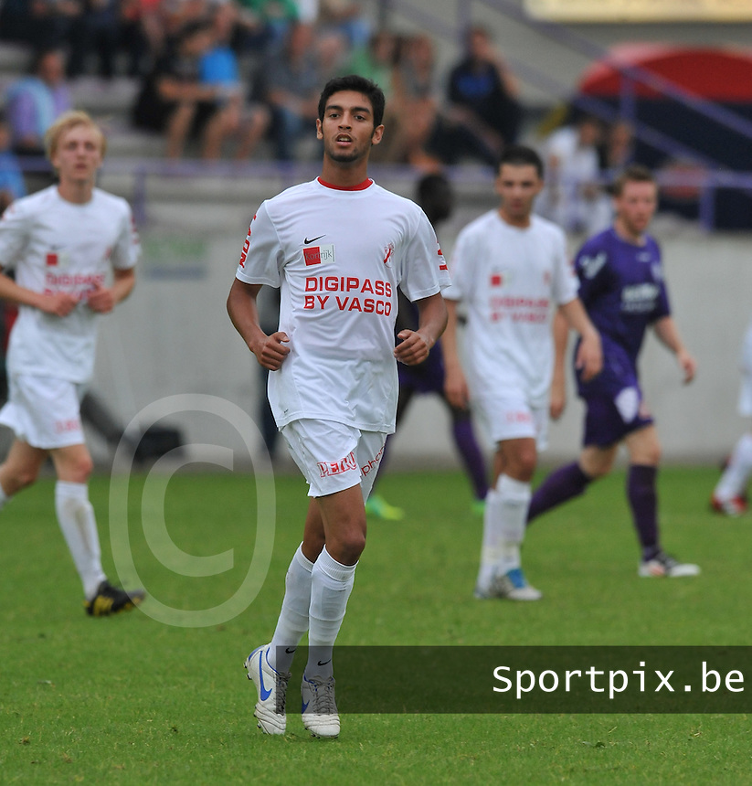 KV Kortrijk : Taha Souhail.foto VDB / BART VANDENBROUCKE