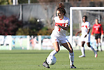 07 November 2010: Maryland's Domenica Hodak. The Wake Forest University Demon Deacons defeated the University of Maryland Terrapins 3-1 on penalty kicks after the game ended in a 1-1 tie after overtime at WakeMed Stadium in Cary, North Carolina in the ACC Women's Soccer Tournament championship game.