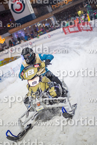 07.12.2014, Saalbach Hinterglemm, AUT, Snow Mobile, im Bild Pirkner Event Racing Team // during the Snow Mobile Event at Saalbach Hinterglemm, Austria on 2014/12/07. EXPA Pictures © 2014, PhotoCredit: EXPA/ JFK