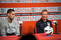 USMNT Press Conference, March 21, 2013