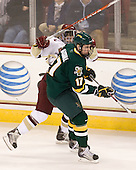 Brian Gibbons (BC - 17), Matt Marshall (Vermont - 17) - The Boston College Eagles defeated the visiting University of Vermont Catamounts 6-0 on Sunday, November 28, 2010, at Conte Forum in Chestnut Hill, Massachusetts.
