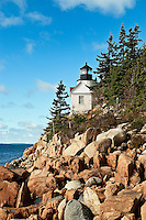 Bass Harbor Light, Bass Harbor, Acadia National Park, Maine, ME, USA