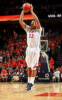 CHARLOTTESVILLE, VA- DECEMBER 6: Malcolm Brogdon #22 of the Virginia Cavaliers shoots the ball during the game on December 6, 2011 against the George Mason Patriots at the John Paul Jones Arena in Charlottesville, Virginia. Virginia defeated George Mason 68-48. (Photo by Andrew Shurtleff/Getty Images) *** Local Caption *** Malcolm Brogdon