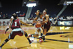 "Ole Miss' Diara Moore (10) vs. UMass' Emily Mital (24) at the C.M. ""Tad"" Smith Coliseum in Oxford, Miss. on Saturday, December 8, 2012."