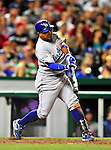 23 April 2010: Los Angeles Dodgers' third baseman Ronnie Belliard in action against the Washington Nationals at Nationals Park in Washington, DC. The Nationals defeated the Dodgers 5-1 in the first game of their 3-game series. Mandatory Credit: Ed Wolfstein Photo
