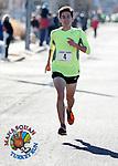Liam Wall of Manasquan won the first annual Manasquan Turkey Run on Sat., Nov. 22, 2014.  (Andrew Mills Digital Media)