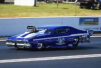 Jun 10, 2016; Englishtown, NJ, USA; NHRA pro mod driver Jim Whiteley during qualifying for the Summernationals at Old Bridge Township Raceway Park. Mandatory Credit: Mark J. Rebilas-USA TODAY Sports