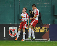 Washington D.C. - November 1, 2015: The New York Red Bulls defeated D.C. United 1-0 in the first leg of the Eastern Conference Semifinals at RFK Stadium.