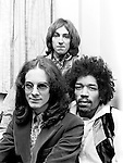 Jimi Hendrix Experience 1967 with Noel Redding, Jimi Hendrix and Mitch Mitchell
