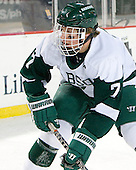 Andrew Bonazza (Babson - 7) - The Norwich University Cadets defeated the Babson College Beavers 4-1 on Friday, January 13, 2011, at Fenway Park in Boston, Massachusetts.