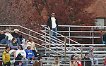 10 November 2007: Robert Warzycha (POL), assistant coach of Major League Soccer's Columbus Crew, scouts the game. The Duke University Blue Devils defeated the North Carolina State University Wolfpack 2-0 at Method Road Soccer Stadium in Raleigh, North Carolina in an Atlantic Coast Conference NCAA Division I Men's Soccer game.
