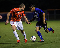 The number 24 ranked Furman Paladins took on the number 20 ranked Clemson Tigers in an inter-conference game at Clemson's Riggs Field.  Furman defeated Clemson 2-1.  Martin Ontiveros (10), Jack Metcalf (4)