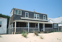 1993 July 08..Conservation.Cottage Line..REHAB.EXTERIOR VIEW BEFORE.1734 EAST OCEAN VIEW AVENUE.FROM BEACH...NEG#.NRHA#..