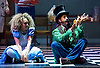 The Mad Hatter&rsquo;s Tea Party <br /> by Zoo Nation<br /> directed by Kate Prince<br /> presented by Zoo Nation, The Roundhouse &amp; The Royal Opera House<br /> at The Roundhouse, London, Great Britain <br /> rehearsal <br /> 29th December 2016 <br /> <br /> <br /> Issac Turbo Baptiste<br /> as the Mad Hatter <br /> <br /> <br /> <br /> Kayla Lomas-Kirton as Alice <br /> <br /> <br /> <br /> Photograph by Elliott Franks <br /> Image licensed to Elliott Franks Photography Services