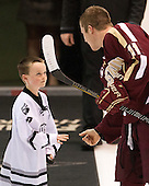 Kevin Rich (Providence - 17), Pat Mullane (BC - 11) - The Providence College Friars tied the visiting Boston College Eagles 3-3 on Friday, December 7, 2012, at Schneider Arena in Providence, Rhode Island.