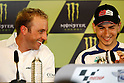 May 22, 2010 - Le Mans, France - Kenny Noyes (R)  is pictured during the French Grand Prix at le Mans circuit, France, on May 22, 2010. (Photo Andrew Northcott/Nippon News).