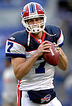 31 December 2006: Buffalo Bills quarterback J.P. Losman warms up prior to a game against the Baltimore Ravens at M&amp;T Bank Stadium in Baltimore, Maryland. The Ravens defeated the Bills 19-7. Mandatory Photo Credit: Ed Wolfstein Photo.<br />