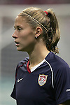 Oct 13 2007:   Marian Dalmy of the USA.  The US Women's National Team defeated Mexico 5-1 at the Edward Jones Dome in St. Louis on October 13th in their first of three expo matches.
