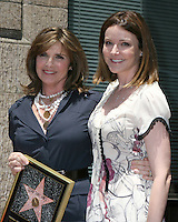Susan Saint James & Christa Miller.Susan Saint James receives a Star on the Hollywood Walk of Fame. Los Angeles, CA.June 11, 2008.©2008 Kathy Hutchins / Hutchins Photo .