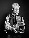Photographer Elliott Erwitt photographed in his New York studio for the ART & SOUL to promote arts funding in partnership with The Creative Coalition and Sony.