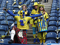 fans before the game<br /> <br /> Photographer Rachel Holborn/CameraSport<br /> <br /> European Rugby Champions Cup Final - Clermont Auvergne v Saracens - Saturday 13th May 2017 - BT Murrayfield, Edinburgh<br /> <br /> World Copyright &copy; 2017 CameraSport. All rights reserved. 43 Linden Ave. Countesthorpe. Leicester. England. LE8 5PG - Tel: +44 (0) 116 277 4147 - admin@camerasport.com - www.camerasport.com