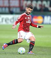 FUSSBALL   CHAMPIONS LEAGUE   SAISON 2011/2012     15.02.2012 AC Mailand - Arsenal London Antonio Nocerino (AC Mailand)