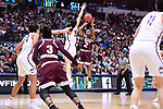 DALLAS, TX - MARCH 31:  Morgan William #2 of the Mississippi State Lady Bulldogsduring the 2017 Women's Final Four at American Airlines Center on March 31, 2017 in Dallas, Texas. (Photo by Justin Tafoya/NCAA Photos via Getty Images)