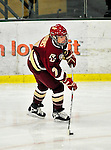 16 October 2010: Boston College Eagles' defender Dru Burns, a Sophomore from Plano, TX, in action against the University of Vermont Catamounts at Gutterson Fieldhouse in Burlington, Vermont. The Eagles defeated the Lady Cats 4-1 in the second game of their weekend series. Mandatory Credit: Ed Wolfstein Photo
