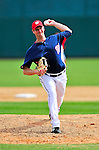 8 March 2010: Washington Nationals' pitcher Doug Slaten on the mound during a Spring Training game against the Florida Marlins at Space Coast Stadium in Viera, Florida. The Marlins defeated the Nationals 12-2 in Grapefruit League action. Mandatory Credit: Ed Wolfstein Photo