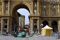 Piazza della Repubblica.Firenze.Florence...