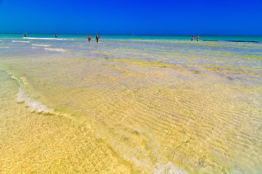 Beach on Mediterranean Sea, Hotel Yadis Djerba, Djerba Island, Tunisia