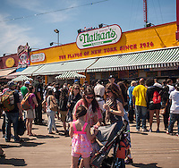 Coney Island on Memorial Day 2013