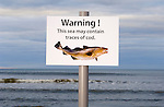 Spoof warning sign - cod