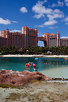 Scenes from The Atlantis Casino Resort Spa in Nassau, The Bahamas March 2011..