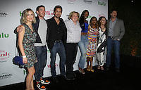 WEST HOLLYWOOD, CA - SEPTEMBER 09: Mindy Kaling, Ed Weeks, Ike Barinholtz, Beth Grant, Xosha Roquemore, Fortune Feimster, Bryan Greenberg, Rebecca Rittenhouse attends The Mindy Project 100th Episode Party at E.P. & L.P. on September 9, 2016 in West Hollywood, California. (Credit: Parisa Afsahi/MediaPunch).