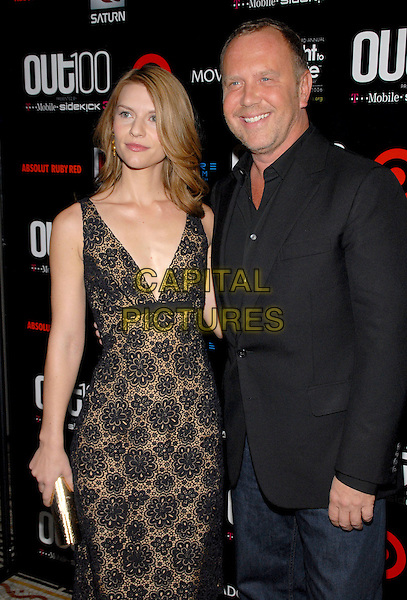"""CLAIRE DANES & MICHAEL KORS.""""Out""""Magazine honors 100 most influential people in gay culture during """"Out 100 Awards"""" at Capitale, New York, NY, USA, 10 November 2006..half 3/4 length clare.Ref: ADM/PH.www.capitalpictures.com.sales@capitalpictures.com.©Paul Hawthorne/AdMedia/Capital Pictures. *** Local Caption ***"""