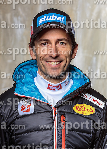 08.10.2016, Olympia Eisstadion, Innsbruck, AUT, OeSV Einkleidung Winterkollektion, Portraits 2016, im Bild wilhelm Denifl, Nordische Kombination, Herren // during the Outfitting of the Ski Austria Winter Collection and official Portrait Photoshooting at the Olympia Eisstadion in Innsbruck, Austria on 2016/10/08. EXPA Pictures © 2016, PhotoCredit: EXPA/ JFK