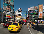 Dundas Square at Yonge and Dundas streets. Downtown Toronto, Ontario, Canada 2011.