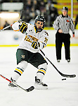 29 December 2010: University of Vermont Catamount forward Brett Leonard, a Senior from South Burlington, VT, in action against the 2011 U.S. Men's National University Team in an exhibition game at Gutterson Fieldhouse in Burlington, Vermont. The Catamounts defeated the National team 7-1. Mandatory Credit: Ed Wolfstein Photo