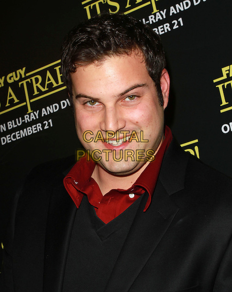 """MAX ADLER.""""Family Guy Presents: It's a Trap"""" DVD Launch Party held At SupperClub, Hollywood, CA, USA..December 14th, 2010.headshot portrait red black .CAP/ADM/KB.©Kevan Brooks/AdMedia/Capital Pictures."""