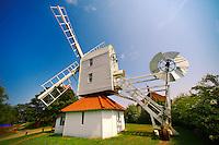 Wooden windmill at Thorpeness village - Suffolk - England